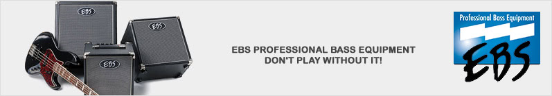 EBS Bass Equipment