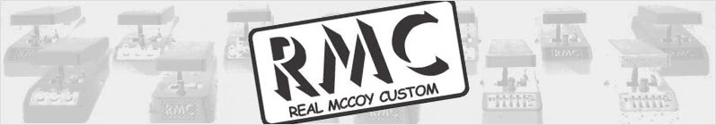 Real McCoy Custom Wah Pedal