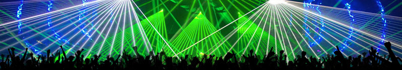 Lasers party