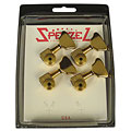 Hardware Sperzel Bass Trim Lok 4L Gold High Polish, Spare Parts, Guitar/Bass