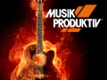 Musik Produktiv Button1 Guitar on Fire