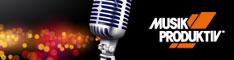 Musik Produktiv Banner Mikrofon
