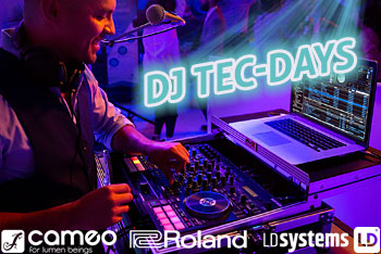 DJ Tec Days bei Musik Produktiv