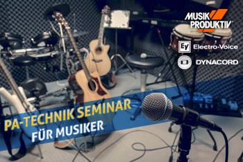 PA-Technik Seminar für Musiker
