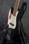 American Pro Jazz Bass LH RW BK (8)
