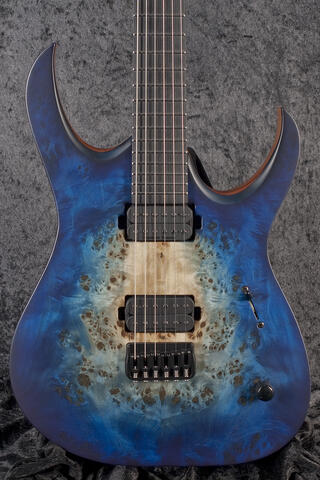 Mayones Duvell Elite 6 Natural Blue Burst Out