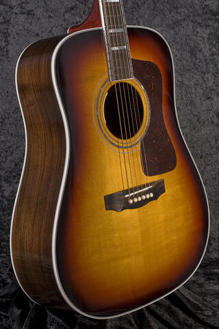 Guild D-55E Antique Burst