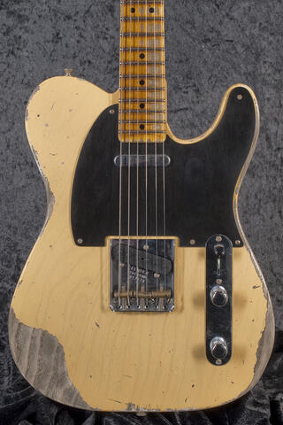 Fender Custom Shop. Heavy Relic Nocaster