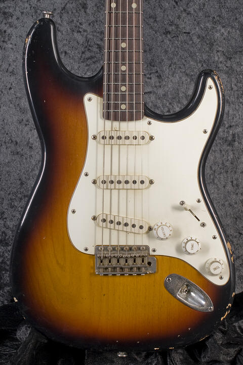 Haar Traditional S aged 3-Tone-Sunburst, RW
