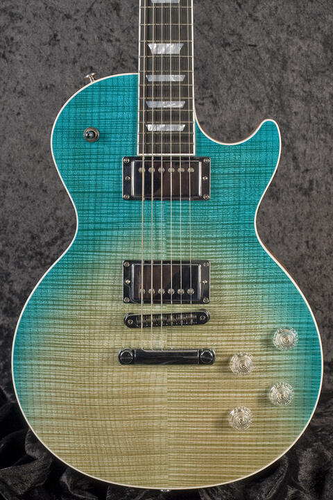 Gibson Les Paul High Performance Seafoam Fade