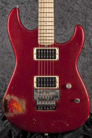 Friedman Cali, HH, Candy Red over 2Tone Sunburst