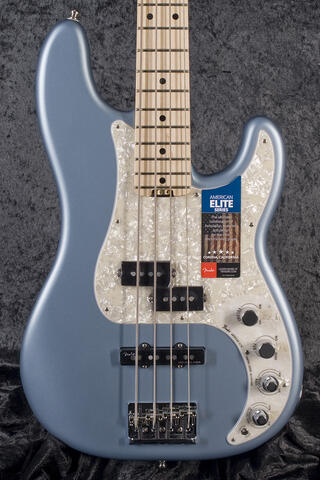 Fender American Elite P-Bass MN SATIN IBM