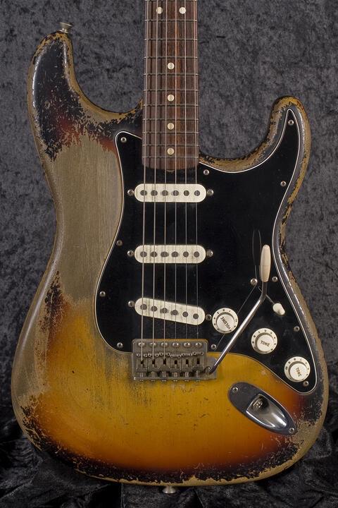 Fender Custom Shop 1963 Stratocaster Heavy Relic 3TSB