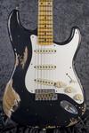 Custom Shop 1957 Stratocaster Heavy Relic, Black (1)