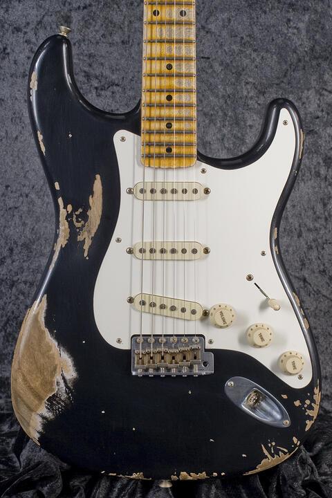 Fender Custom Shop 1957 Stratocaster Heavy Relic, Black