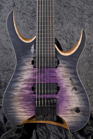 Mayones Hydra Elite 7 Galaxy Purple Satin