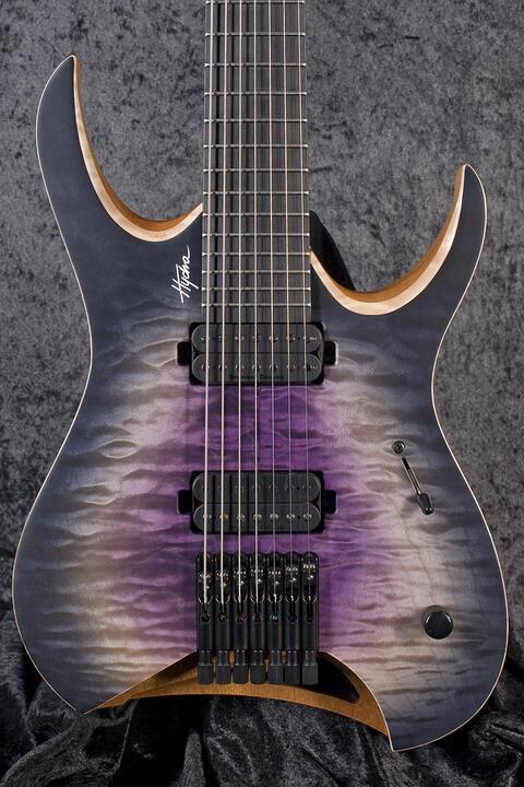 Mayones Hydra Elite 7 Galaxy Purple Satin