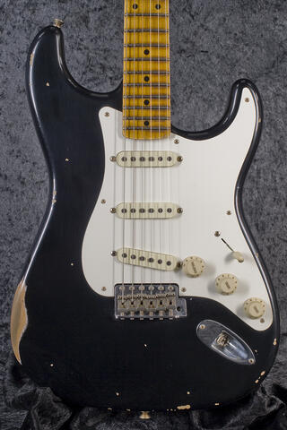 Fender Custom Shop 1957 Stratocaster Heavy Relic, Black
