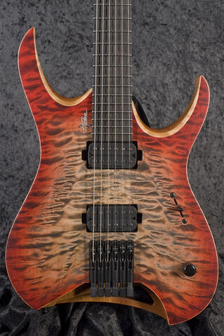 Mayones Hydra Elite 6 Trans 3-Tone Red Burst Matt