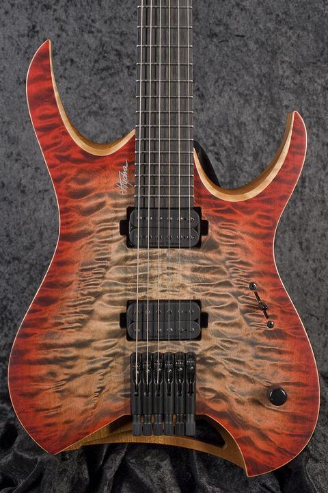 Mayones Hydra Elite 6 Trans 3-Tone Red Burst Matt