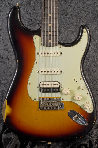 Fender CustomShop 1960 Relic Stratocaster 3TS