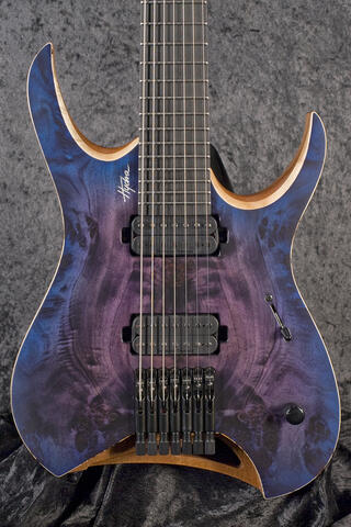 Mayones Hydra Elite 7 Trans Purple Blue Burst