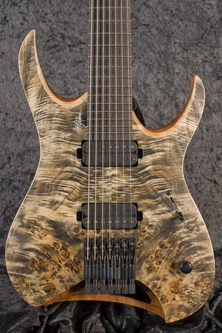 Mayones Hydra Elite 7 Trans Graphite Satin