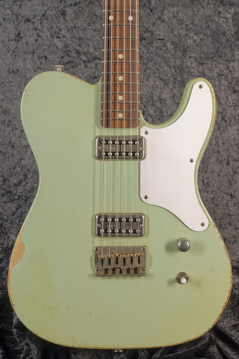 Haar Traditional T aged, Surf Green