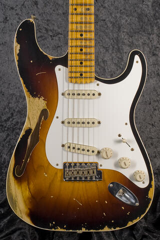 Fender CustomShop 1956 Relic Thinline Stratocaster WF2TS