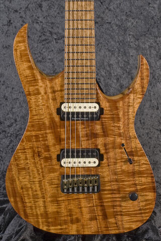 Mayones Duvell Elite 7 Limited Koa Edition