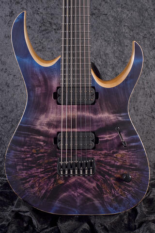 Mayones Duvell Elite 7 Dirty Purple Blue Burst