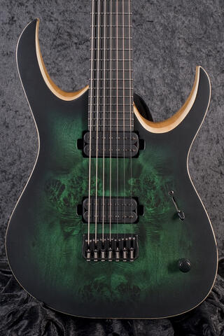 Mayones Duvell Elite 7 Dirty Green Burst