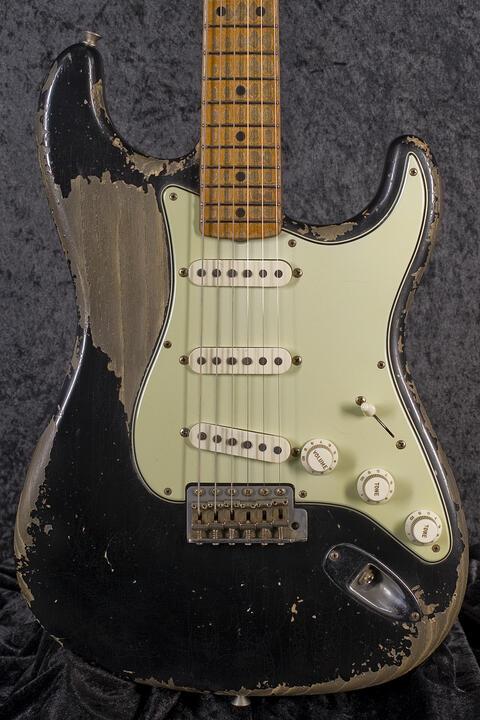 Fender CustomShop 1958 Heavy Relic Stratocaster BK