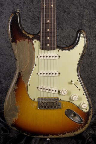 Fender CustomShop 1961 Ultra Relic Stratocaster 3TS