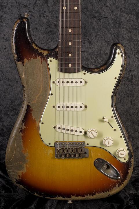 Fender CustomShop 1961 Ultra Relic Stratocaster 3TS