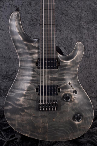 Mayones Regius Core 6 QM Antique Black Matt