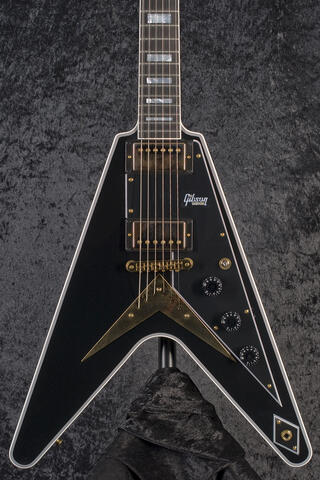 Gibson Custom Shop Flying V Custom Ebony
