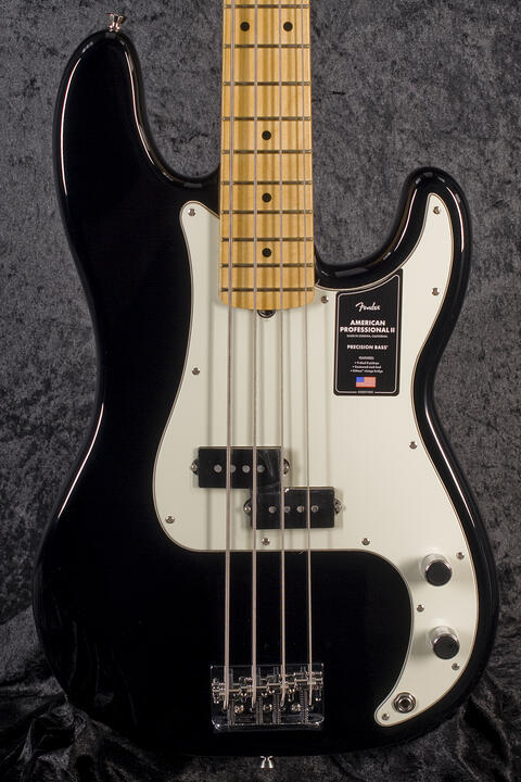 Fender American Professional II P-Bass MN BLK