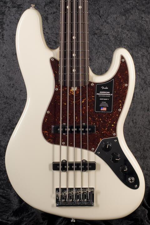 Fender American Professional II Jazz Bass V RW OWT
