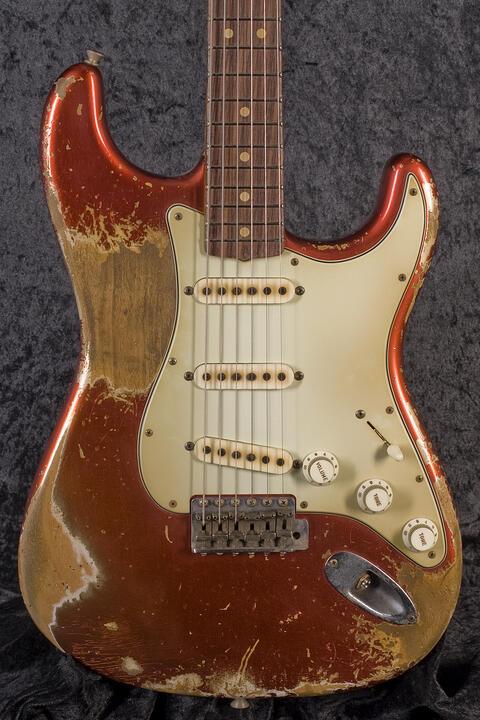 Fender Custom Shop 63 Stratocaster HR CAR