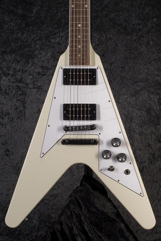 Gibson 70s Flying V Classic White