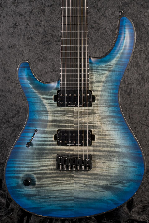 Mayones Regius Core 7 Jeans Black 3-Tone Blue Burst
