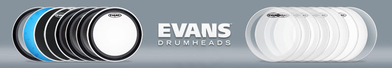 Evans · Drums & Percussion