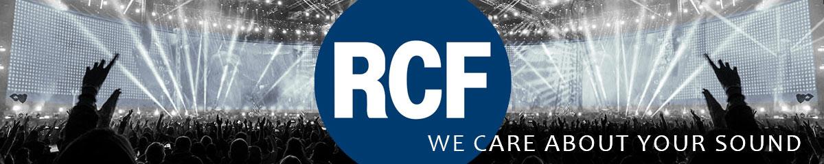 RCF · Głośniki (monitory) aktywne