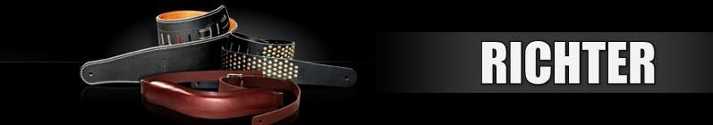 Richter guitar straps