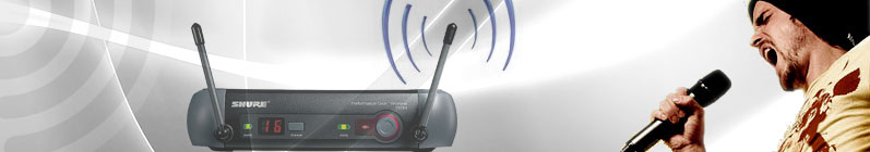 Sistemas de micrófonos inalámbricos