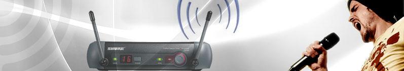 Sistemas de micrófonos inalámbricos Online Shop