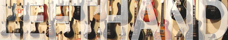 Guitares électriques gaucher