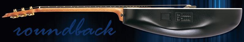 Guitarras acústicas Roundback
