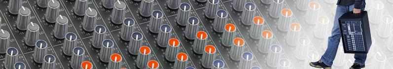 Mixerbord med inbyggt slutsteg